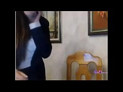 Hot Italian girl masturbating on cam - gspotcam...