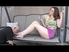 Foot fetish - Mistress Megan Star