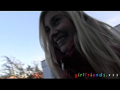 Girlfriends meet while shopping amazing natural tits amateur video