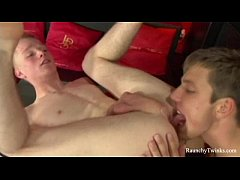 Two Hotties Twink Can't Stop Fucking