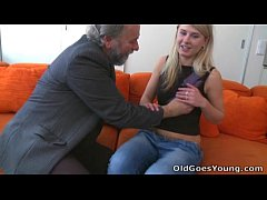 Old Goes Young - Vika's boyfriend found her fuc...