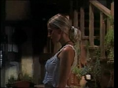 Vintage porn with a blonde fucked in a tavern