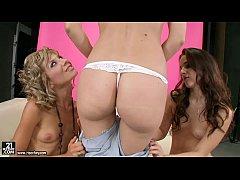 lesbian threesome with sophie moone ioana and amirah adara