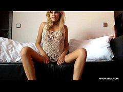 MAGMA FILM Gorgeous German blonde webcam