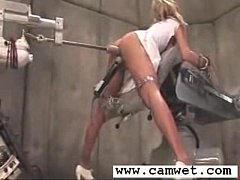 Brooke Double Penetrated by machine