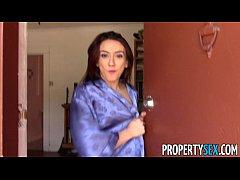 PropertySex - Landlord fucks tenant with nice big ass on camera