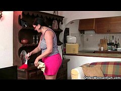 These British milfs know how to be a domestic g...