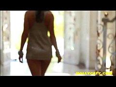 Gracie Glam Lust strip striptease oil solo biki...
