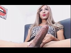 Transsexual With a Rock Hard Cock