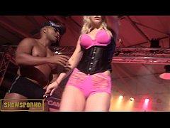 Black monster cock interracial french blonde pornstar