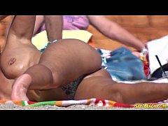 Amateur Topless MILFs - Voyeur Beach HD Video