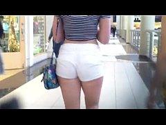 Red Head Cheeky Shorts Free Voyeur Porn Video V...
