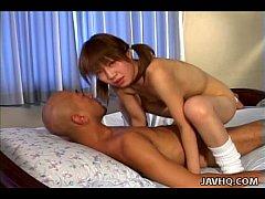 Horny Kaoru Umemiya nailed hard!