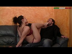 The Puppet Of Elisa Part 2 - Footjob and Worship