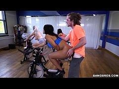 BANGBROS - Latina Rose Monroe's Sexercise Spin ...