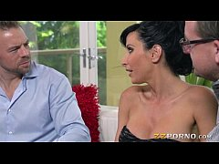 Huge juggs milf Lezley Zen wet snatch ripped on...