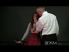 BDSM XXX Filthy horny subs are caged until used...