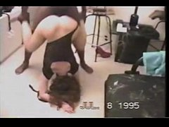 Deep anal sex with two black man