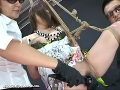 Extreme Uncensored Japanese Device Bondage Sex Ayumi