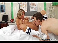 Horny Girl in the Clinic
