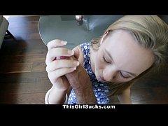 ThisGirlSucks - Blondy Tiffany Kohl Takes a Hug...