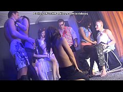 Wild student sex friends party on Friday 13th s...