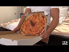 Delicious Pizza Topping - Delivery Girl Wants C...