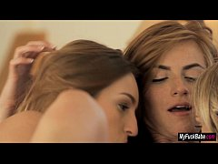 Emma Stoned Staci Carr n Maci Winslett licking ...