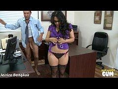 Horny Jessica Bangkok take cock for cum