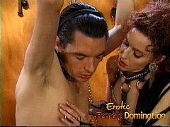 Kinky stallion has his throbbing shaft pleasure...