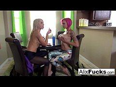 Alix Lynx Lesbian Fun