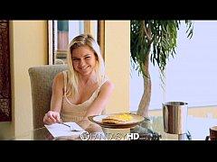 FantasyHD - Man eats and fucks teen Chloe Foste...
