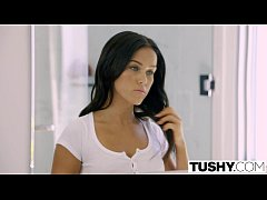 TUSHY Bad GF Megan Rain Double Penetration