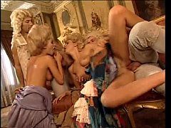 Noblewoman abused in a XVIII century orgy