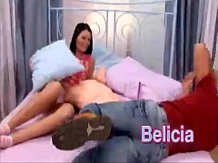 Belicia is going hard anal