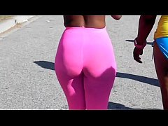 big booty ghetto walking and groped
