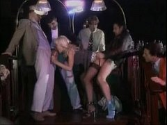 Very Beautiful Busty Blonde Gangbang Anal DP, D...