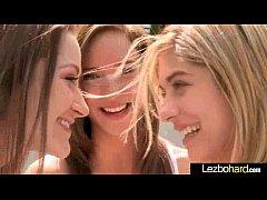 Amazing Sex Between Horny Teen Lesbo Girls (Dan...
