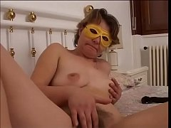 Anonymous whore jerking off her pussy