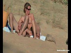 Public Beach Sex & Masturbation Mayhem