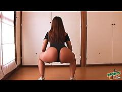 Huge Ass Latina Teen Working Out