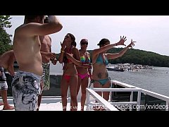 private home party video with crazy nude chicks in public