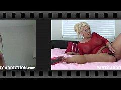 Raven Rae panties jerk off instruction