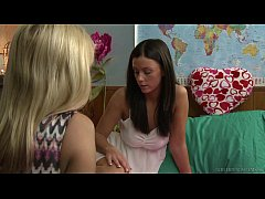 Older woman playing with Whitney Westgate
