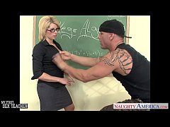 Sinfully teacher Brooke Haven fucking her young...