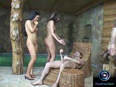 Leslie and Valentina Velazquez awesome threesom...