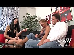 MMV FILMS Amateur Mature Threesome with his BF ...