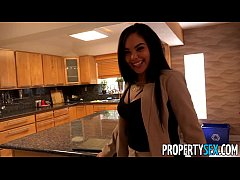 PropertySex - Client finds out hot Latina real ...