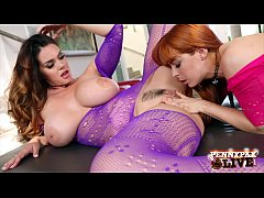 Hottest Big Boobs Lesbians Alison Tyler And Pen...