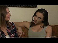 Veruca James seduces the unexperienced Shauna Skye